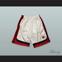 Fresno State Bulldogs White Basketball Shorts 1