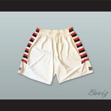 Fresno State Bulldogs White Basketball Shorts 2
