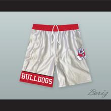 Fresno State Bulldogs White Basketball Shorts 3