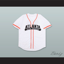 Atlanta Black Crackers 10 White Baseball Jersey