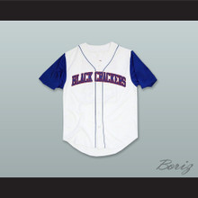 Atlanta Black Crackers 24 White Baseball Jersey