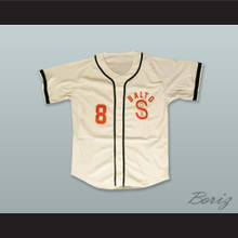 Baltimore Black Sox 8 Negro League Beige Baseball Jersey