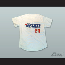 Ken Griffey Jr 24 San Bernardino Spirit White Baseball Jersey