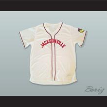 Hank Aaron 5 Jacksonville Braves White Baseball Jersey