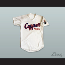 Butte Copper Kings 10 White Baseball Jersey