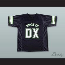 D-Generate 69 Suck It DX Black Football Jersey