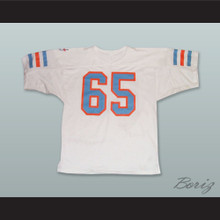 Quinton Knight 65 Detroit Drive White Football Jersey