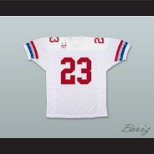 Steve Griffin 23 Washington Commandos White Football Jersey
