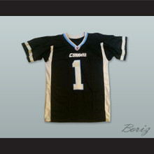 Kansas City Command 1 Black Football Jersey