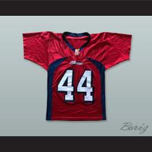 McCombs 44 Bakersfield Blitz Red Football Jersey