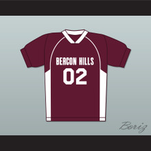 Vernon Boyd 02 Beacon Hills Cyclones Lacrosse Jersey Teen Wolf Maroon Style