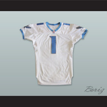 Davidson 1 Toronto Phantoms White Football Jersey
