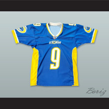 Tampa Bay Storm 9 Blue Football Jersey