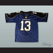 Dallas Desperados 13 Blue Football Jersey