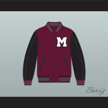 Mystic Falls Timberwolves High School Varsity Letterman Jacket-Style Sweatshirt The Vampire Diaries 2