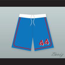 Joe Cooper 44 Milwaukee Beers BASEketball Blue Basketball Shorts