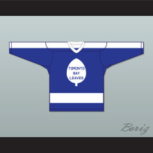Boutette 15 Toronto Bay Leaves Blue Hockey Jersey  SCTV Power Play