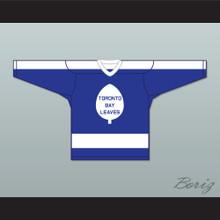 Olmstead 16 Toronto Bay Leaves Blue Hockey Jersey  SCTV Power Play