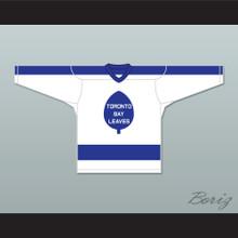 Olmstead 16 Toronto Bay Leaves White Hockey Jersey  SCTV Power Play