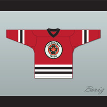 Shoresy 69 Letterkenny Irish Red Hockey Jersey