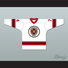 Jonesy 74 Letterkenny Irish White Alternate Hockey Jersey