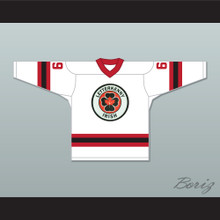 Shoresy 69 Letterkenny Irish White Alternate Hockey Jersey