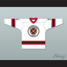 Yorkie 5 Letterkenny Irish White Alternate Hockey Jersey