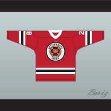 Joint Boy 28 Letterkenny Irish Red Alternate Hockey Jersey