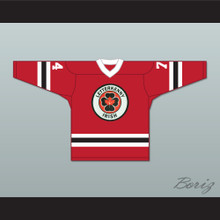 Jonesy 74 Letterkenny Irish Red Alternate Hockey Jersey