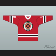 Shoresy 69 Letterkenny Irish Red Alternate Hockey Jersey