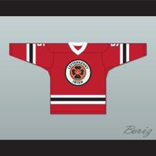 Yorkie 5 Letterkenny Irish Red Alternate Hockey Jersey