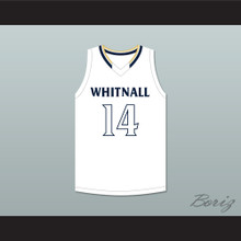 Tyler Herro 14 Whitnall High School Falcons White Basketball Jersey