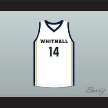 Tyler Herro Whitnall High School Falcons White Basketball Jersey 2