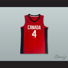 Jamal Murray 4 Team Canada Red Basketball Jersey