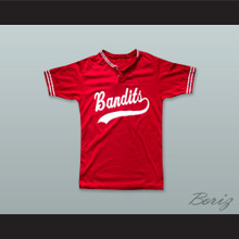Bandits 18 Red Pullover Baseball Jersey