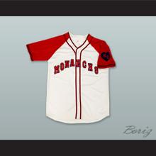Jackie Robinson 5 Kansas City Monarchs White Button Down Baseball Jersey