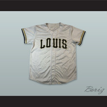 Louis The Child 17 Light Silver Button Down Baseball Jersey