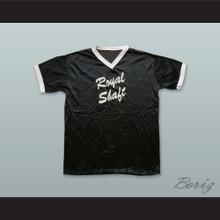 Royal Shaft Black Pullover Baseball Jersey