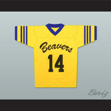 Isaac Lahey 14 Beacon Hills Beavers Lacrosse Jersey Teen Wolf Throwback