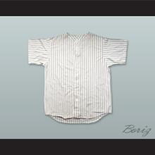 2 Legit White Pinstriped Baseball Jersey