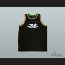 311 Three 11 Black Basketball Jersey