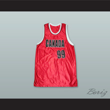Canada 99 Red Basketball Jersey