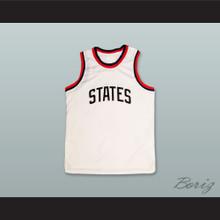 United States USA White Basketball Jersey
