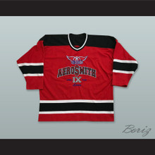 Aerosmith 9 Lives Red Hockey Jersey