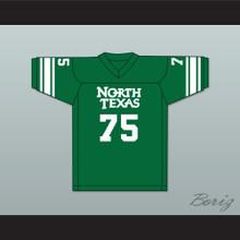Joe Greene 75 North Texas State Green Football Jersey 2