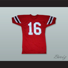 Johnny Unitas 16 Louisville Cardinals Red Football Jersey