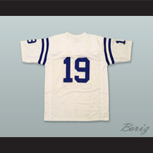 Johnny Unitas 19 Baltimore Colts White Football Jersey