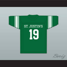 Johnny Unitas 19 St. Justin's High School Pittsburgh Green Football Jersey
