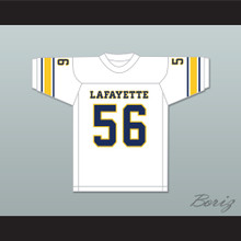 Lawrence Taylor 56 Lafayette High School Rams White Football Jersey