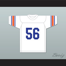 Jim Brown 56 Manhasset High School Indians White Lacrosse Jersey